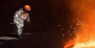 Küresel ham çelik üretimi arttı