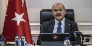 Bakan Soylu, vali, emniyet müdürü ve jandarma komutanlarıyla koronavirüs tedbirlerini görüştü