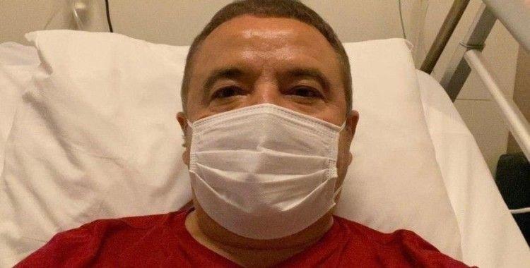 Başkan Böcek'in solunum cihazına bağlı olarak tedavisi sürüyor