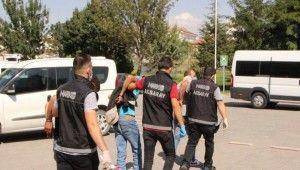 Aksaray'da 5 ayrı uyuşturucu operasyonu