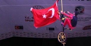 Avrupa Spor Haftasında, jimnastikçilerin gösterileri nefesleri kesti