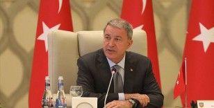 Milli Savunma Bakanı Akar: Kafkasya'da barış ve istikrarın en büyük engeli Ermenistan'ın saldırgan tutumudur