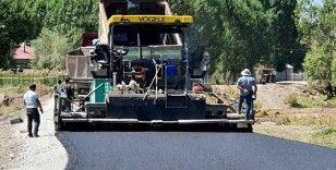 Büyükşehir, Çaldıran'daki asfalt çalışmalarını tamamladı