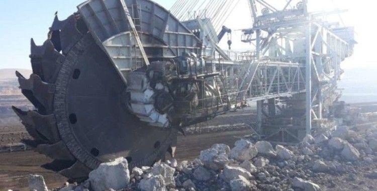 Afşin-Elbistan Linyitlerinde iş kazası:1 ölü, 3 yaralı