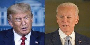 Canlı yayın tartışmasına bir gün kala Biden, Trump'ın yüzde 2 önünde