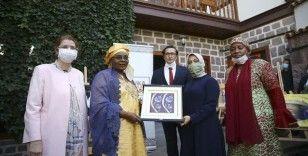 Afrika Evi, Nijer Cumhurbaşkanı'nın eşi Issoufou'yu ağırladı