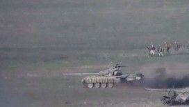 Azerbaycan, Ermeni ordusuna bağlı topçuları vurdu