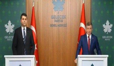 DP Genel Başkanı Gültekin Uysal, Ahmet Davutoğlu'nu ziyaret etti