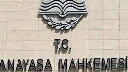 AYM, CHP'nin iptal talebini reddetti