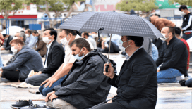 Kırşehir Belediyesi'nden yağışlı havalarda 'Cuma Namazı' tedbirleri