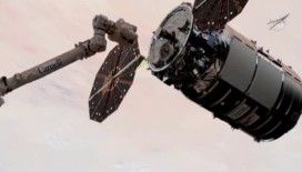 Cygnus uzay aracı, taşıdığı 23 milyon dolarlık tuvalet ile Uluslararası Uzay İstasyonu'na ulaştı