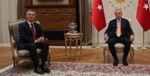 Erdoğan-Stoltenberg görüşmesi başladı