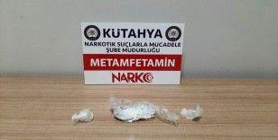 Kütahya'da bir şüpheli 30 gram uyuşturucuyla yakalandı