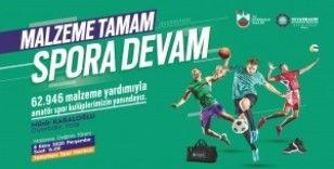 Büyükşehir'den amatör spor kulüplerine dev destek