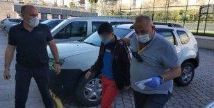 Samsun'da bıçakla yaralama ve gasp olayına 2 gözaltı
