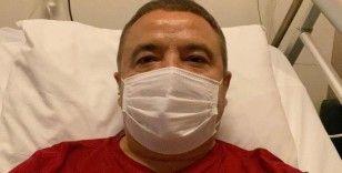 Başkan Böcek'in klinik seyri stabil olarak devam ediyor