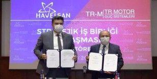 Milli savaş uçağının motoru için iş birliği anlaşması imzalandı