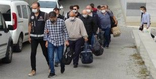 Samsun merkezli FETÖ operasyonunda 8 eski polis adliye sevk edildi
