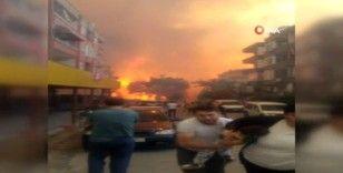 Hatay'da orman yangınındaki tehlike devam ediyor