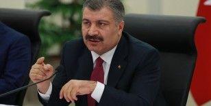 Bakan Fahrettin Koca'dan değerlendirme toplantısı
