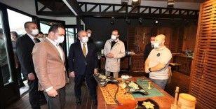 TBMM Başkanı Şentop'tan Okçular Vakfına ziyaret