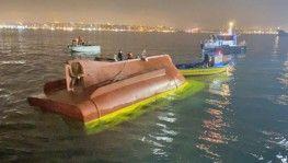 Fatih'te balıkçı teknesi battı