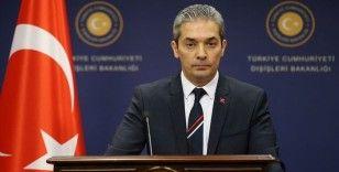 Dışişleri Bakanlığı Sözcüsü Aksoy: İstikşafi görüşmeler 2016'da Yunanistan'ın talebi üzerine durdurulmuştur