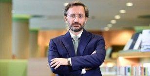 Cumhurbaşkanlığı İletişim Başkanı Altun: Doğu Akdeniz'de diplomatik çözüme bağlılığımızı sürdürüyoruz