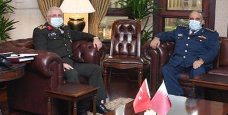 Genelkurmay Başkanı Orgeneral Güler, Katarlı mevkidaşı ile görüştü