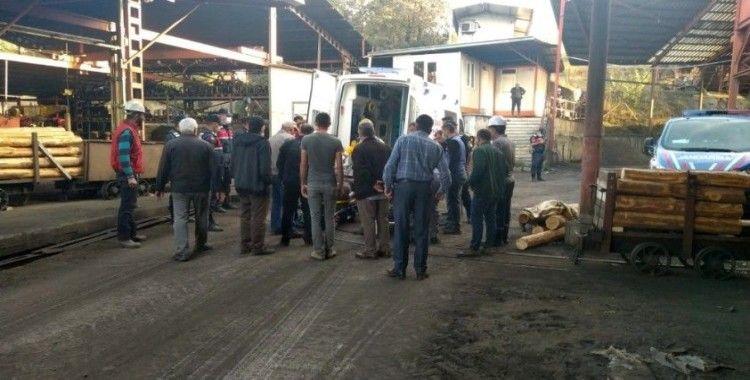 Maden ocağında göçük 1 ölü, 3 yaralı
