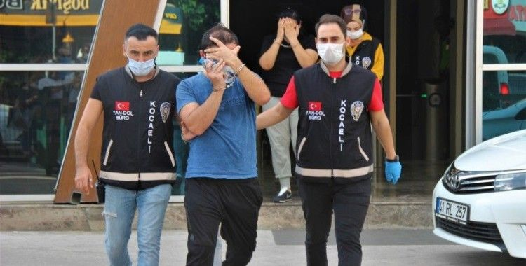 Kuyumculardan 100 bin liralık vurgun yapan 2 kişi tutuklandı