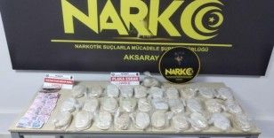 Aksaray'da uyuşturucu tacirlerine büyük darbe