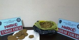 Hatay'da 1 kilo 137 gram uyuşturucu ele geçirildi