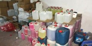 Sahte içki operasyonunda 7 ton etil alkol ele geçirildi