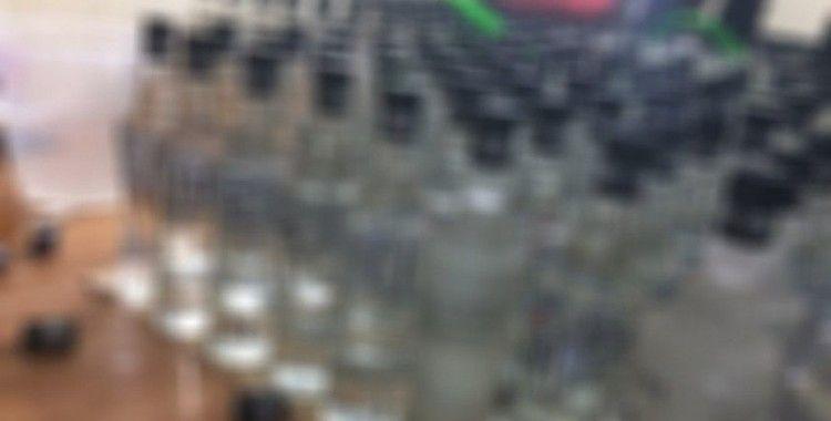 İstanbul'da kaçak yeni içki imalathanesine baskın: 7 ton sahte alkol daha ele geçirildi