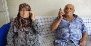 Yaşlı çiftin diş ve düğün parasını oğulları kurtardı