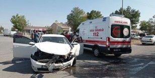 Sanayi sitesi içerisindeki kazada 1'i ağır 3 yaralı