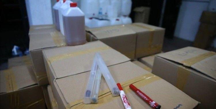 Başakşehir'de yaklaşık 7 bin litre metil ve etil alkol ele geçirildi