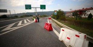 Anadolu Otoyolu Bolu Dağı Tüneli Ankara yönü trafiğe kapatıldı