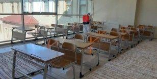 Van'da tüm okullar rutin olarak dezenfekte ediliyor