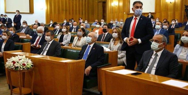 CHP TBMM Grup Genel Kurulu basına kapalı toplandı