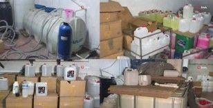 İstanbul'da operasyonlarda toplam 15 ton sahte alkol ele geçirildi