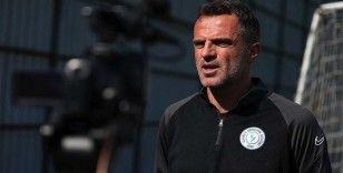 Çaykur Rizespor Teknik Direktörü Tomas: İnşallah Ankaragücü maçı yeni başlangıç olacak