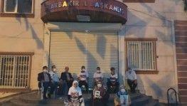 Diyarbakır'da evlat nöbeti 24 saat devam ediyor