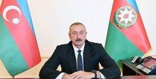Aliyev: Türk yapımı İHA'larla Ermenistan'ın 1 milyar dolarlık askeri teçhizatını imha ettik