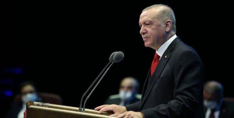 Erdoğan'dan üniversiteler için yüz yüze eğitim açıklaması