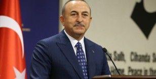 Çavuşoğlu: Bir terör örgütü başka bir terör örgütüyle mücadelede partner olamaz