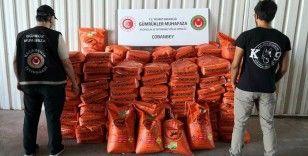 Bomba yapımında kullanılan 3 bin 600 kilo potasyum nitrat ele geçirildi