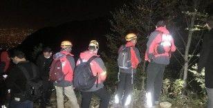 Dağda kaybolan 4 kişi kurtarıldı