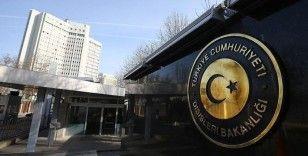 Dışişleri Bakanlığından Ermenistan'a kınama